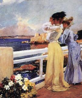 216-Femmes-au-bord-de-mer-oeuvre-de-Daniel-Trammer-2.png