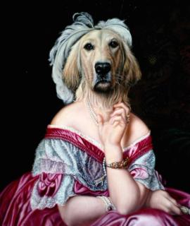 239-Portrait-de-Golden-retriever-en-Baronne-oeuvre-de-Daniel-Trammer-2.png