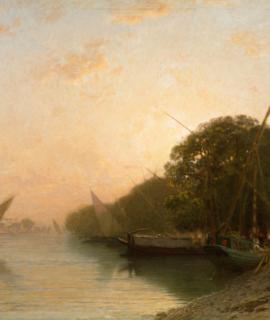 97-Paysage-oriental-vue-sur-le-Nil-70×55-cm-Oeuvre-unique-2.png